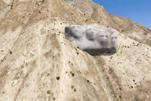 Mount Rushmore Prop [AddonProps \ Map editor]