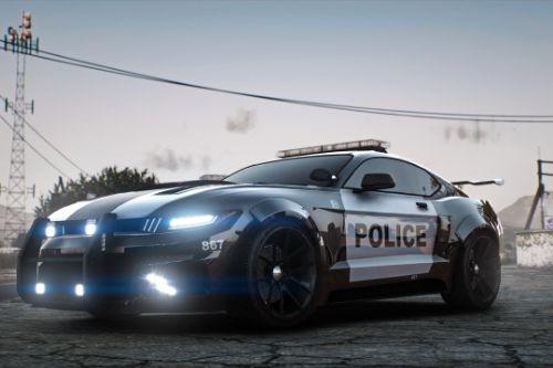 Movie Car - Vapid Dominator Barricade [Add-On | Template]
