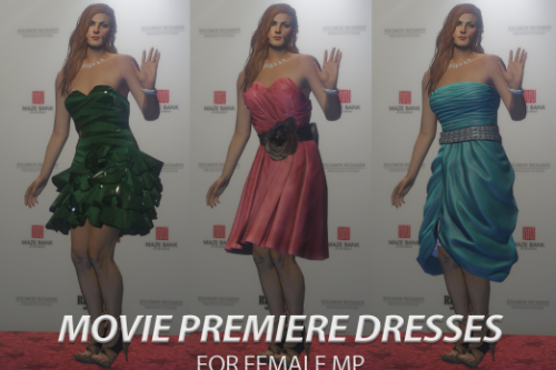 Movie Premiere Dresses for Female MP