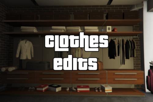 Clothes Edits
