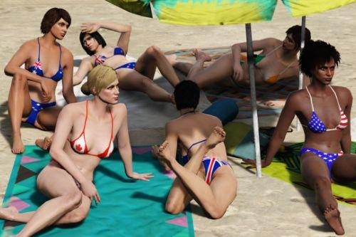 MP Female Anglosphere Flag Bikini [Replace/.OIV]