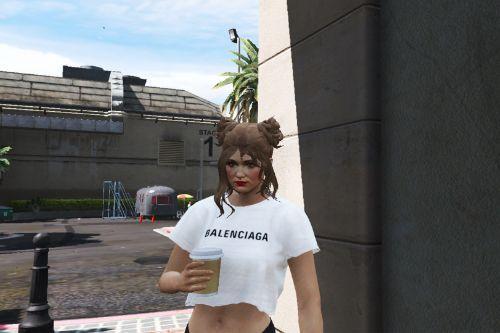 MP Female Crop Shirts [Fivem Ready]