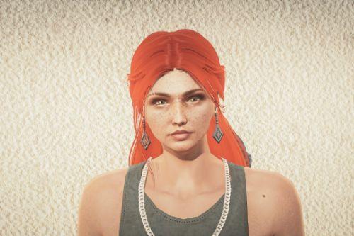 """MP Female Custom Character """"Morgan"""" (MENYOO)"""