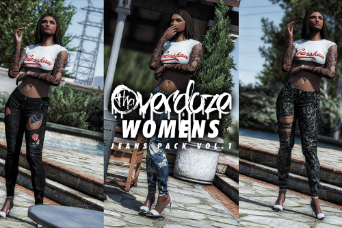 MP Female Jeans Pack Vol.1