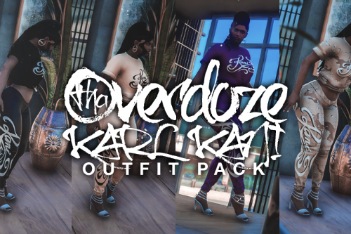 MP Female Karl Kani Outfit Pack