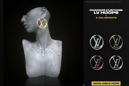 MP Female | Louis Vuitton Hoops