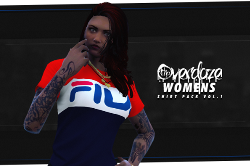MP Female Shirt Pack Vol.1