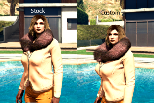 MP Female Winter coat UPD