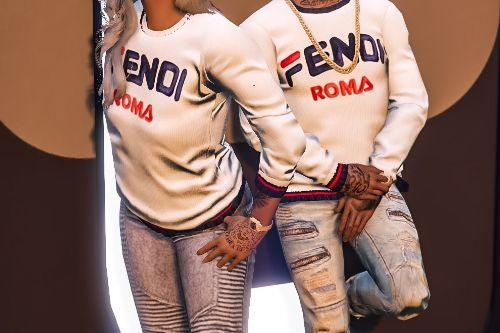 Mp Fendi Sweater for Male & Female