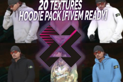 MP Hoodie Pack - Off-White Supreme Nasa... [SP / FiveM]