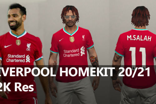 MP LIVERPOOL HOME FOOTBALL Jersey 2020/21 [Fivem Ready]