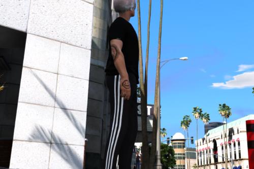 Mp male adidas pants(retexture)