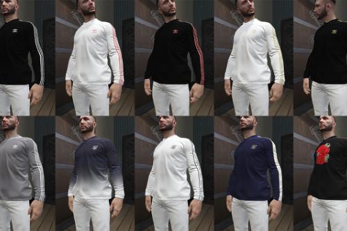 MP Male Adidas & SikSilk longsleeve / hoodie