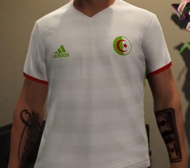 Mp Male Algeria Jersey/Maillot