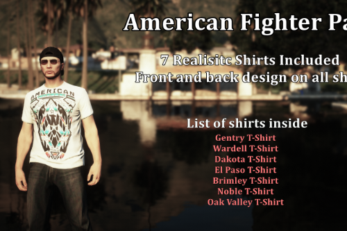 MP Male American Fighter Pack
