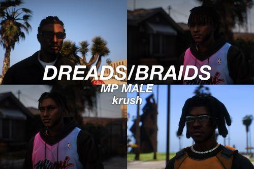 Dreads/Braids pack for MP Male