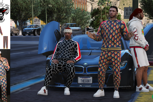 mp male gucci cube tracksuit
