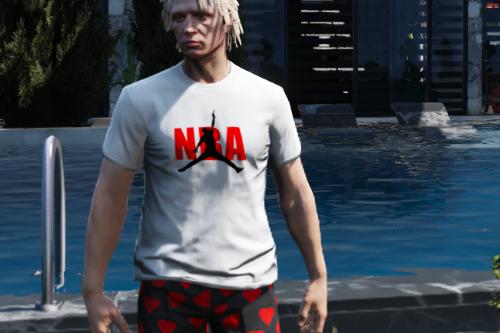 MP Male NBA Never Broke Again Shirt (NBA Youngboy gang shirt)