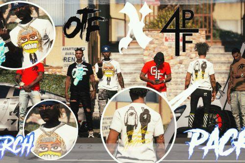 Otf x 4pf Gear Merch Pack Shirts for MP Male