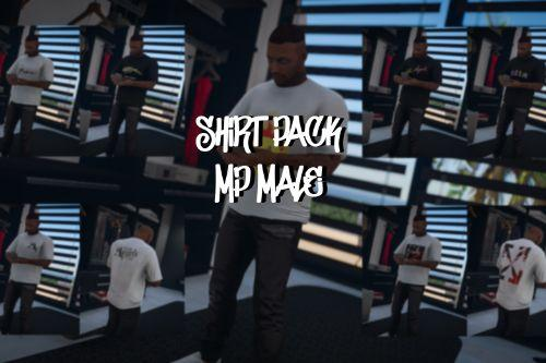 Rounded Shirt Pack for MP Male