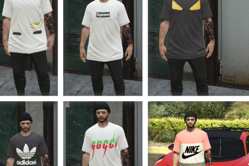 MP Male Shirt Pack (Fivem Ready)