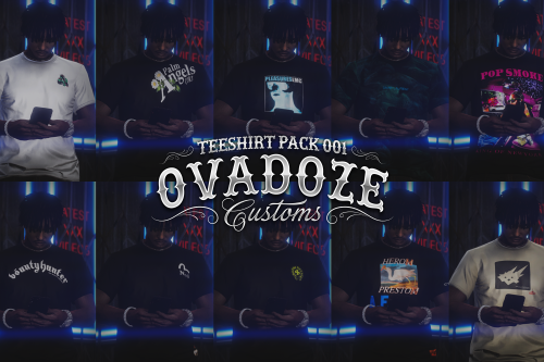 Tee Shirt Pack for MP Male
