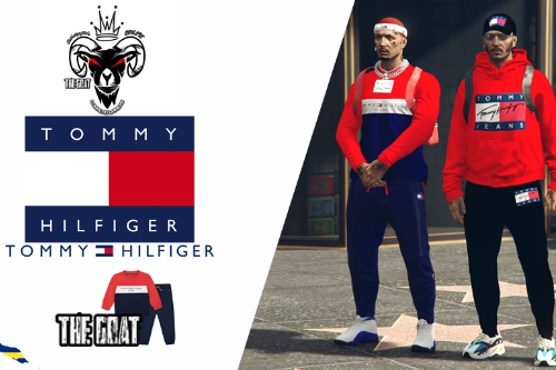 mp male tommy hilfiger tracksuit