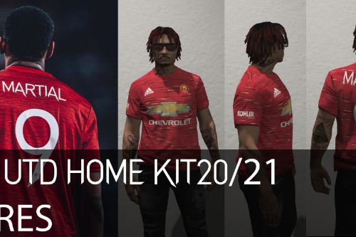 MP Male Manchester United Home Kit 2020/21 [FiveM READY]