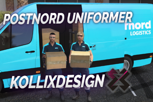 MP POSTNORD UNIFORM [Fivem Ready]