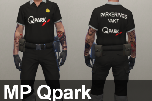 MP Swedish Qpark Parkeringsvakt [Fivem Ready]