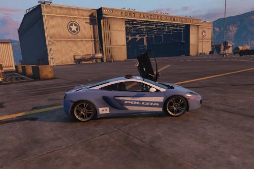 McLaren MP4 Polizia Italiana Paintjob