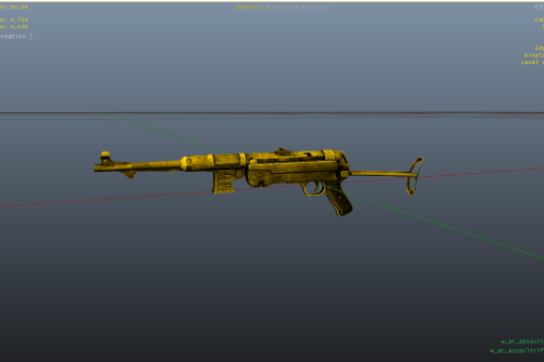 Mp40 Golden