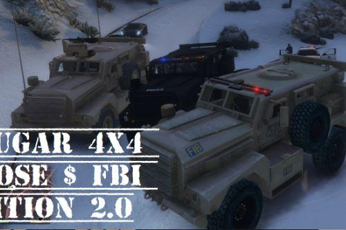 MRAP Cougar 4x4 NOOSE & FIB Edition [Add-On]