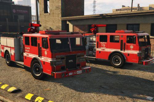 MTL Fire Truck - Mapped [Replace | Liveries]