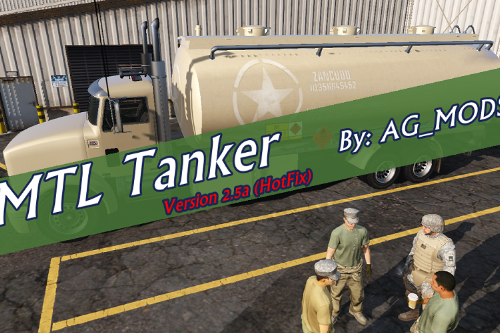 MTL Tanker [Add-On | Template]