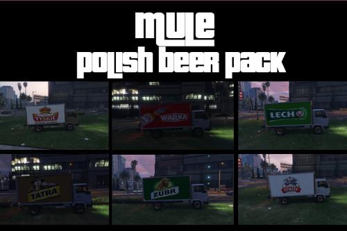 Mule Polish Beer Pack