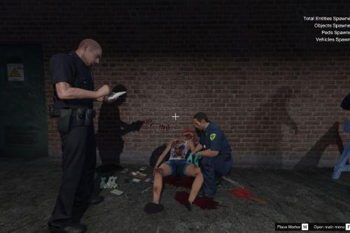 Murder Crime Scene [Menyoo]