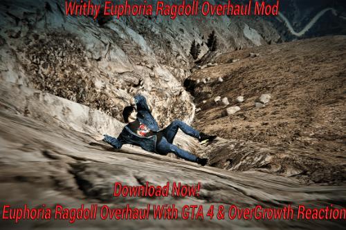 Writhy Euphoria Ragdoll Overhaul Mod