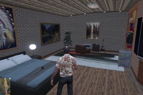 MyHouse Real Live and Underground Basement | GTA V Mod Property