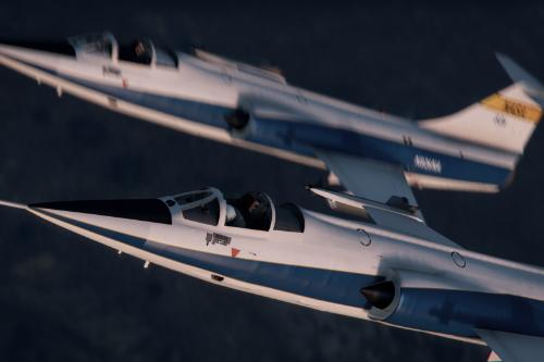 NASA F-104C