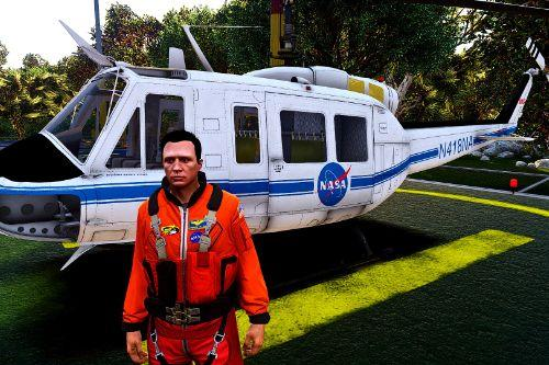NASA Flight Suits For MP Male