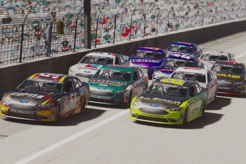 NASCAR Texas Super Speedway [Add-On | Lights]