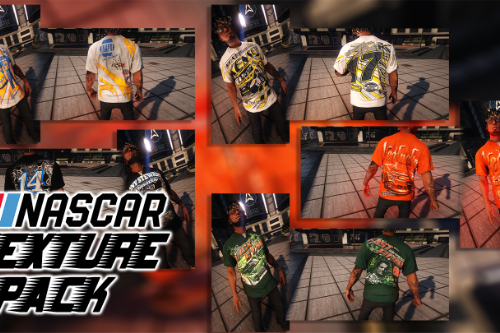 NASCAR Texture Pack for MP Male