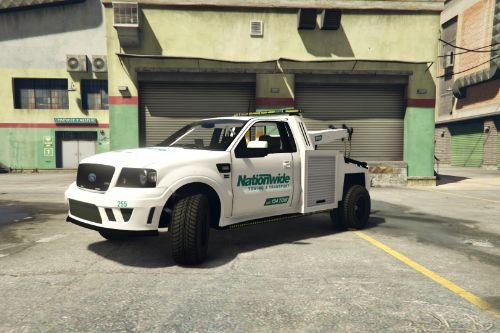 Nationwide Towing Towtruck Skin (Ford S331)