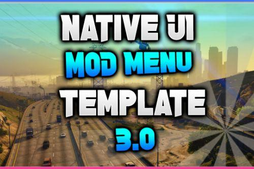 Native UI Mod Menu Template