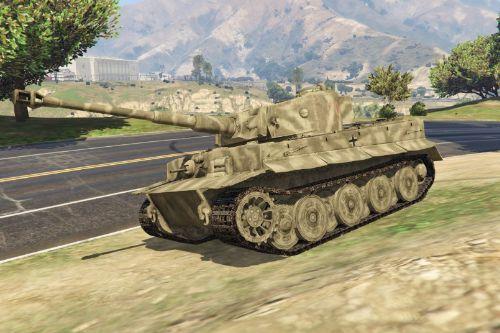Tiger I (World War II Tank) [Add-On]
