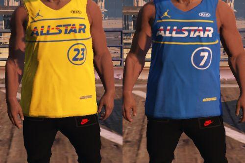 NBA Allstar Jersey 2021