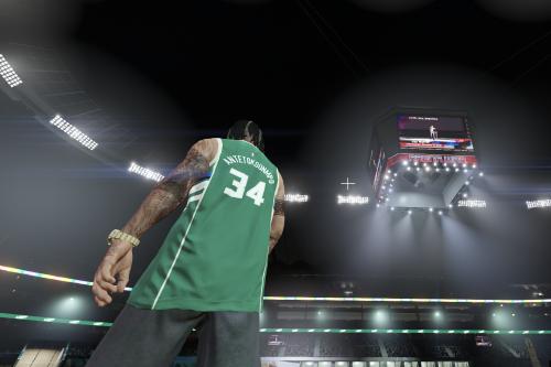 NBA Giannis Antetokounmpo Milwaukee Bucks Jersey For MP Male