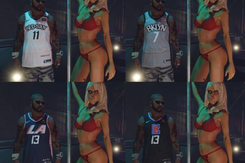 NBA Nets & Clippers Jerseys