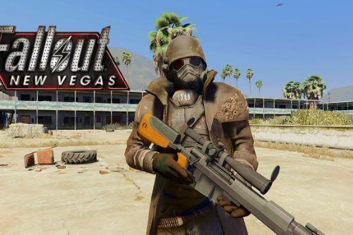 NCR Ranger Fallout New Vegas [Add-On Ped]